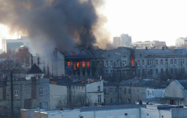 Пожежа і евакуація в коледжі: що відбувається в Одесі