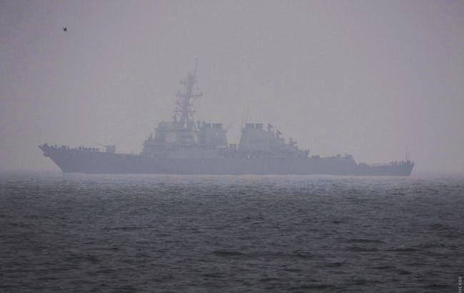 Американский ракетный эсминец прибыл в Одессу