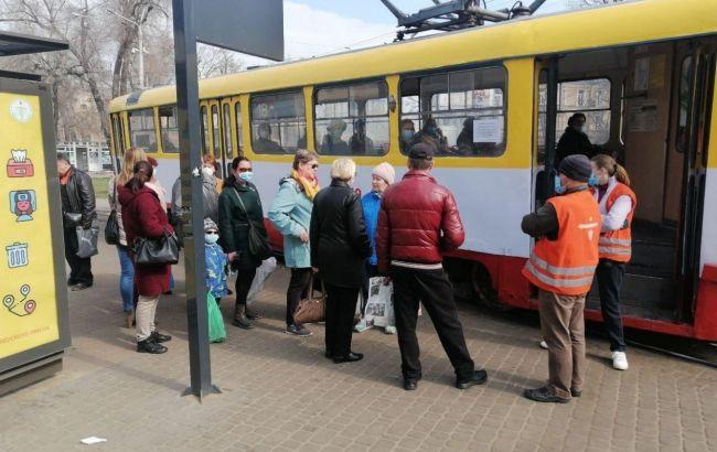Транспортный коллапс и стычки: как проходит карантин в Одессе