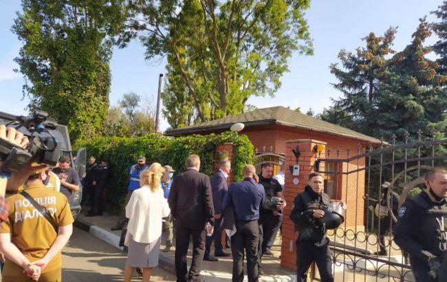 Под Одессой на сборах партии произошли столкновения, полсотни задержанных