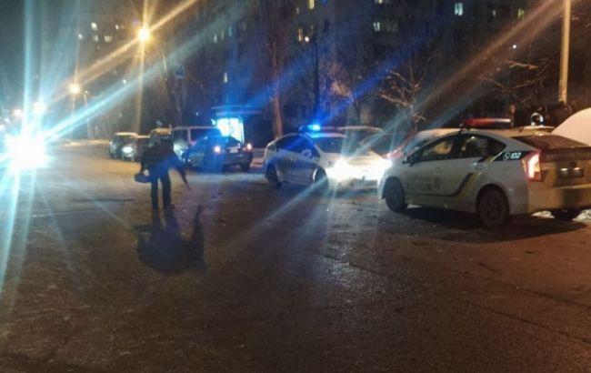 В Одессе ДТП с пьяным водителем, пострадали семь машин