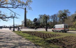 Сутички з поліцією і затримання: як проходять акції до 9 травня в Одесі