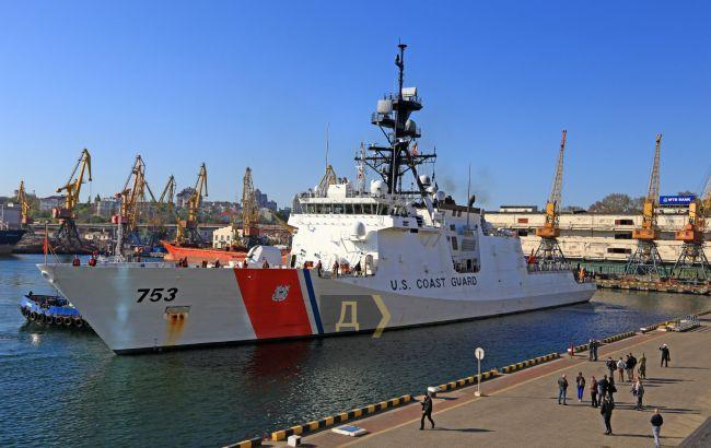 Фрегат береговой охраны США Hamilton зашел в Одессу