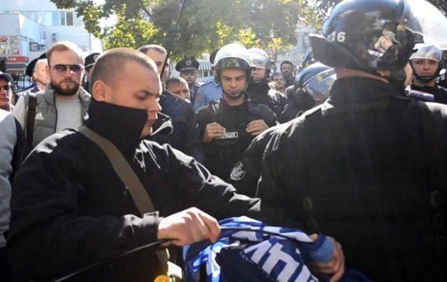 """Фото: бійка в Одесі (""""Думська"""")"""