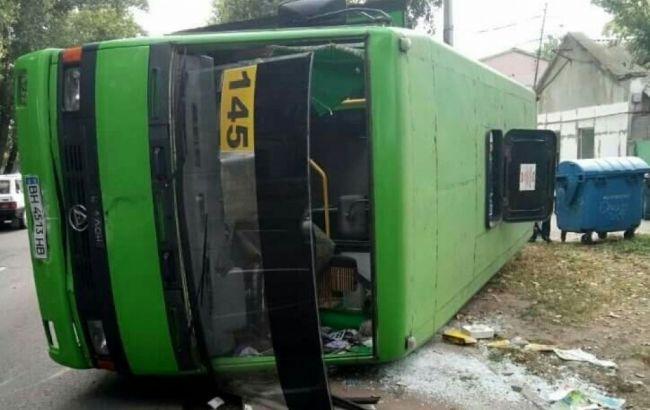 Фото: ДТП з автобусом в Одесі