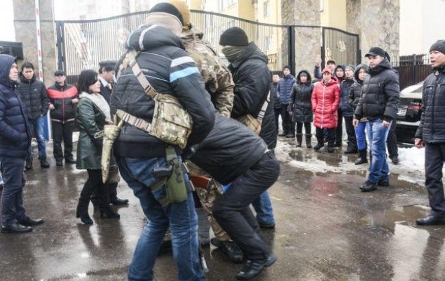 """Фото: зіткнення в Одесі (""""Думська"""")"""
