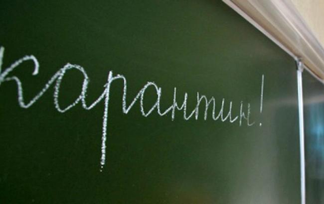 Сзавтрашнего дня вшколах Львова— карантин