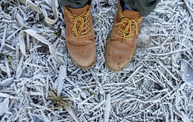 В Украине объявлено штормовое предупреждение и заморозки на завтра