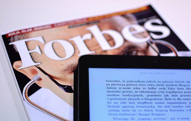 Forbes впервые представил рейтинг криптовалютных миллиардеров