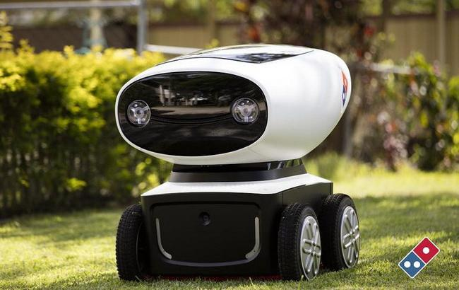 Фото: Domino's Robotic Unit, DRU (ZDNet)