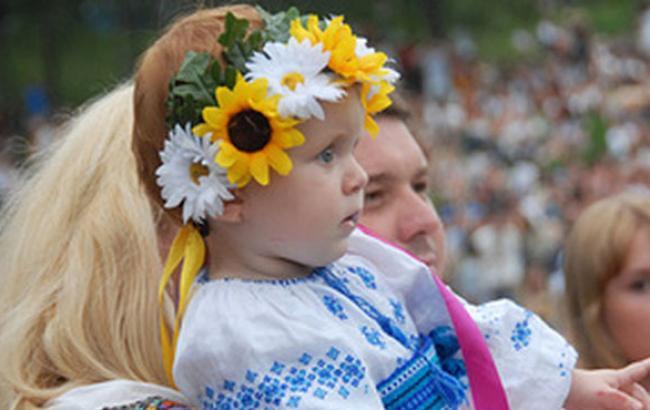 Фото: Маленькая участница марша (0532.ua)