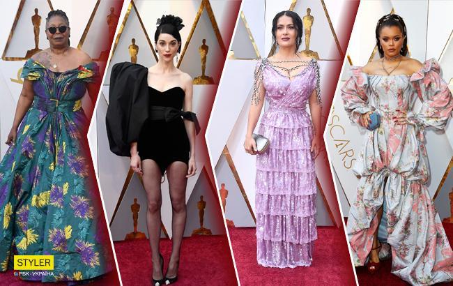 Оскар 2018: найгірші вбрання червоної доріжки