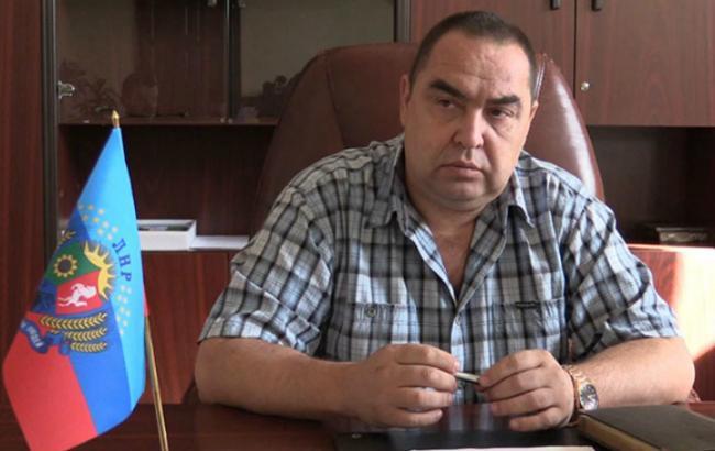 Лідера ЛНР Плотницького затримано в РФ, - прес-центр АТО
