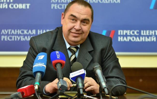 Фото: у Луганську скоєно замах на Плотницького
