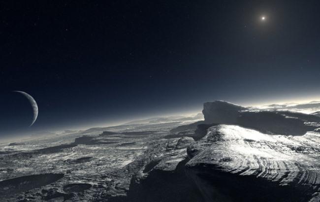 Фото: Поверхность Плутона (postnauka.ru)