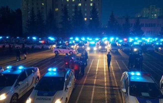 У Києві на перше патрулювання вийшли 500 поліцейських, - МВС