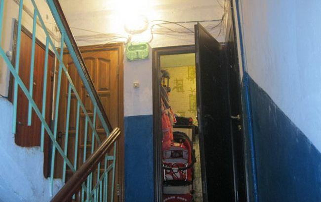 Фото: инцидент произошел в многоквартирном доме в Ромнах
