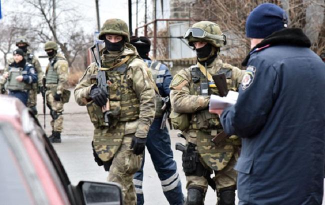 Фото: полиция работает в усиленном режиме