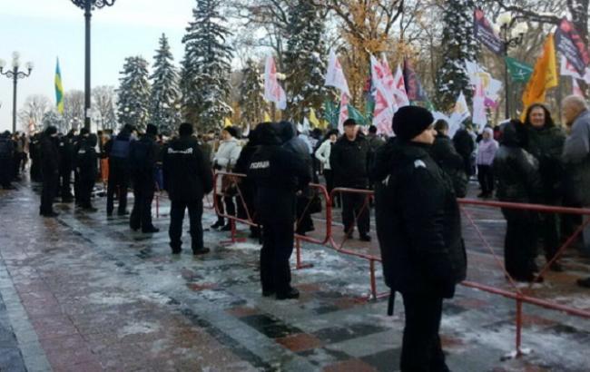 Фото: протести у Києві