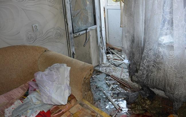Фото: взрыв в квартире в Николаеве