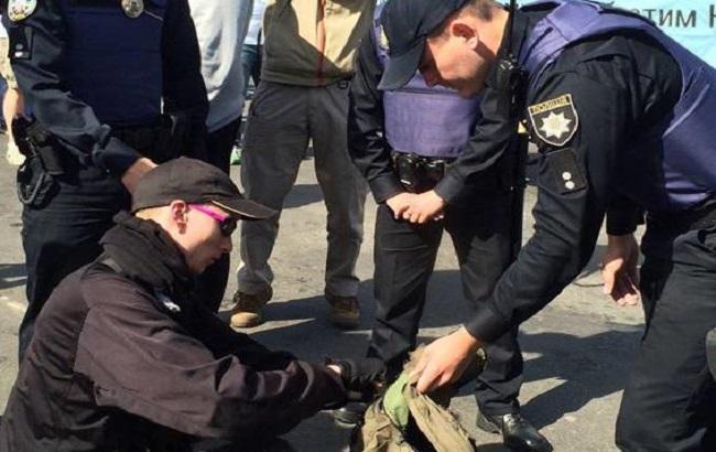 На Марші рівності в Києві поліція затримала близько 50 осіб