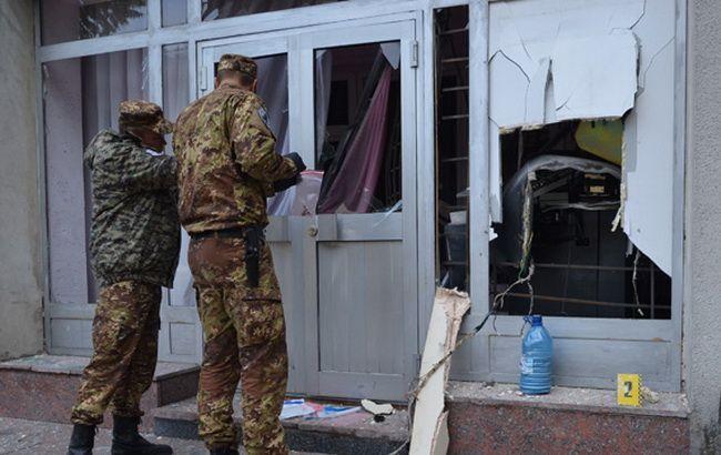 Фото: у Житомирській області підірвали банкомат