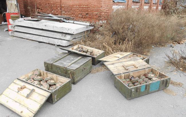 В Сватово милиционеры обнаружили противотанковые мины