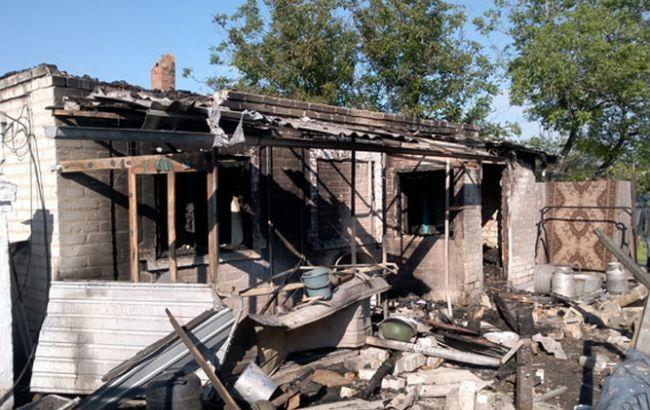 Фото: боевики обстреляли жилой сектор Авдеевки
