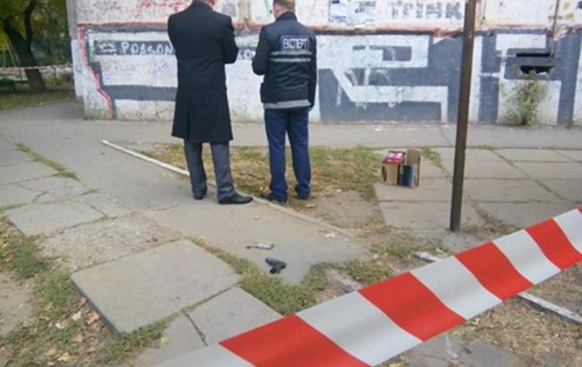 Фото: в Херсоне милиция задержала двух грабителей