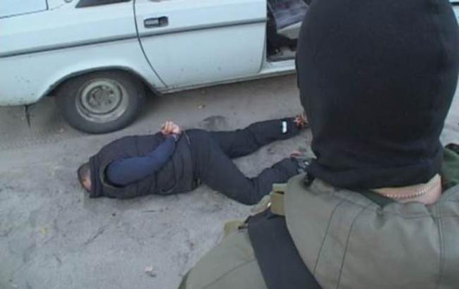 Фото: у Дніпропетровську затримали диверсантів