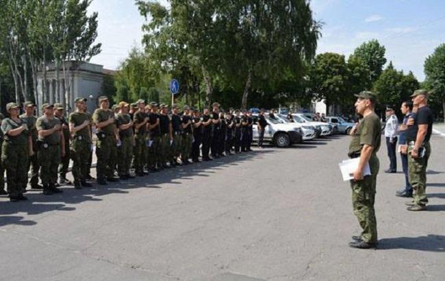 Фото: посилені патрулі в Донецькій області (прес-служба НПУ)