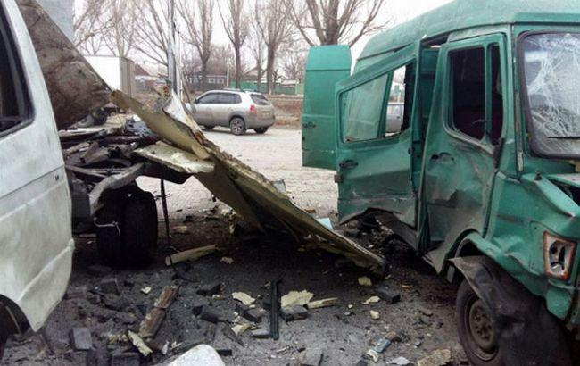 Фото: последствия взрыва в Красноармейске
