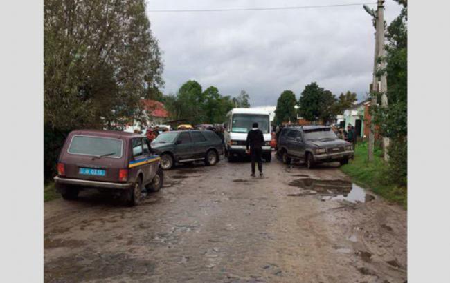 Фото: бійка в Рівненській області (npu.gov.ua)