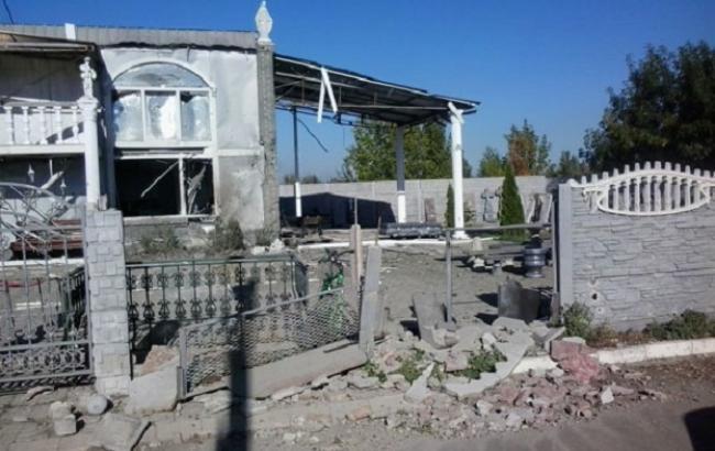 Фото: минометный обстрел Авдіїївки