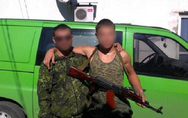 Фото: затриманий бойовик ДНР