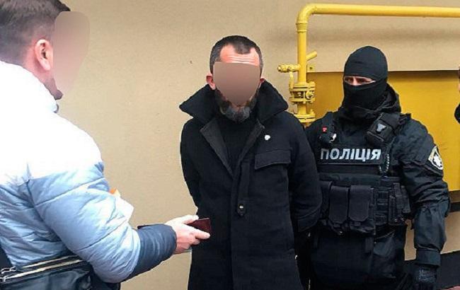 """Фото: задержание сообщников """"вора в законе"""" в Одессе (пресс-служба НПУ)"""