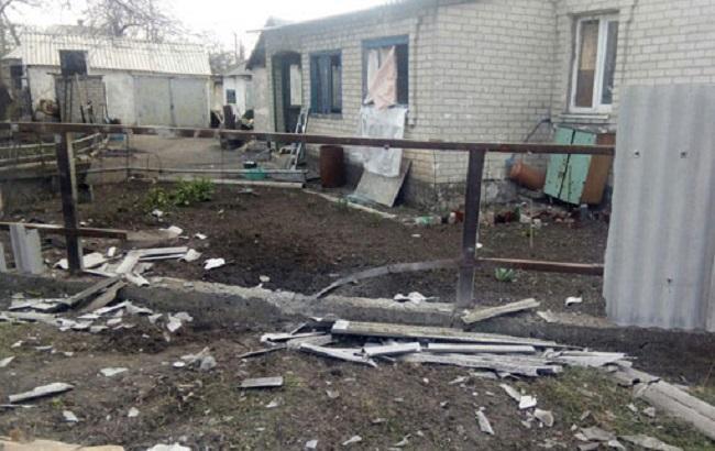 Минометный обстрел Авдеевки: повреждены 8 домов, один разрушен навсе 100%