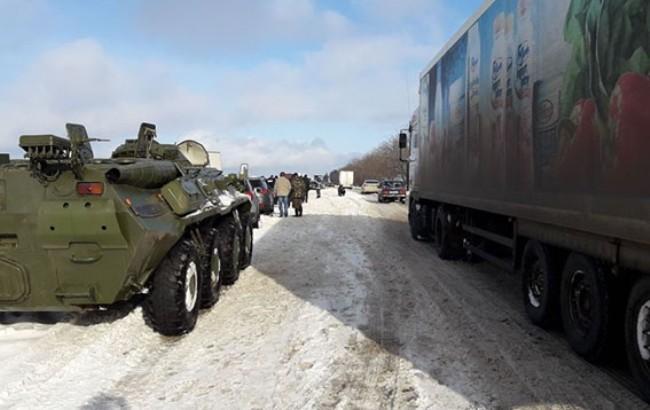 Натрасі Київ-Одеса частково відновили рух— голова Нацполіції