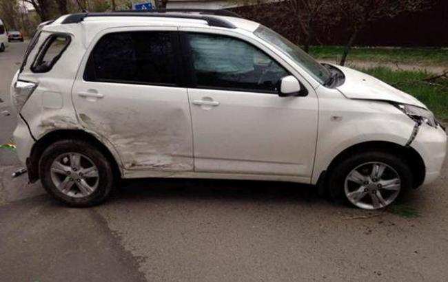 Под Киевом столкнулись два легковых авто, пострадал ребенок