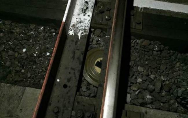 Фото: диверсант планировал подорвать железнодорожные пути в Харьковской области
