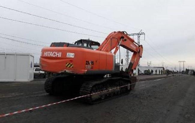 СБУ не дала завезти в окупований Донбас екскаватор за понад 5 млн гривень