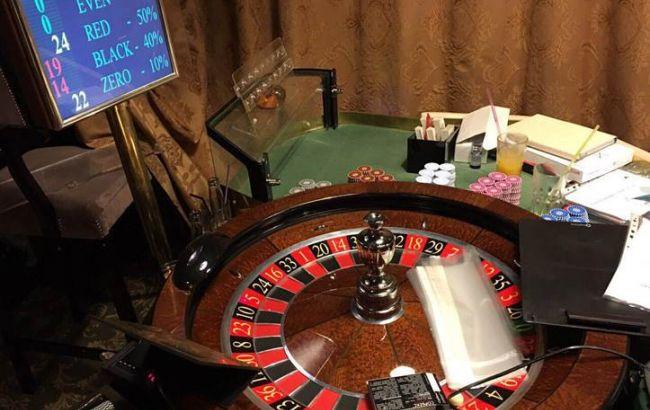 Фото: підпільне казино в Києві