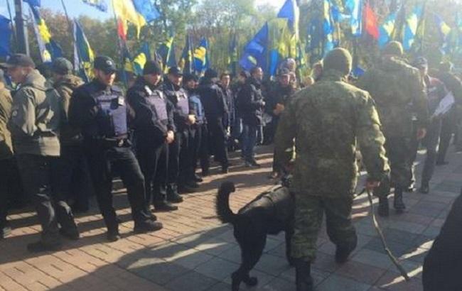 Фото: силовики на масових заходах у Києві