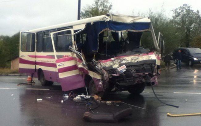 Фото: ДТП произошло в городе в городе Долина