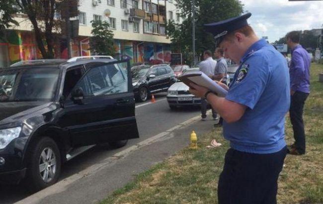 Фото: на Печерской площади Киева произошла стрельба