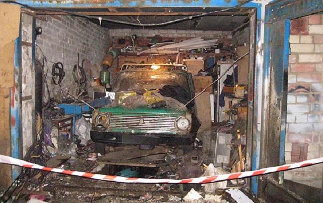 Фото: последствия взрыва в Чернигове