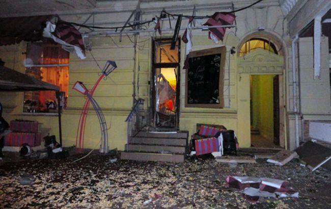 В ресторане Одессы ночью сработало взрывное устройство