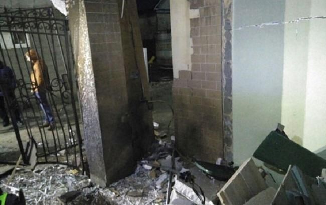 Фото: последствия взрыва в Затоке (Нацполиция)