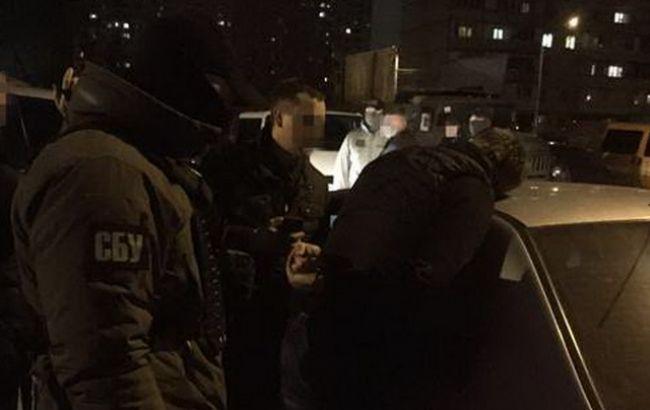 СБУ затримала на хабарі начальника райвідділу поліції в Київській області