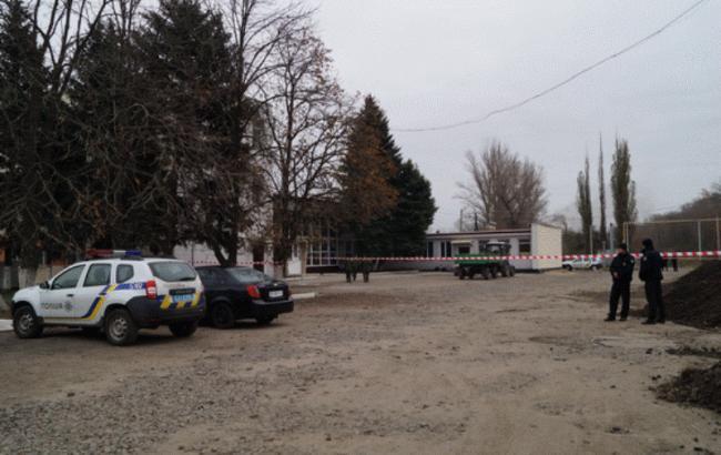 Фото: полиция предотвратила теракт на вокзале в Лисичанске